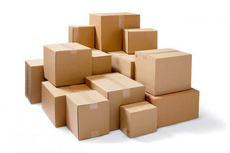Cardboard Boxes - Stock